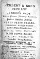 Catalogue 1879 (Price list)