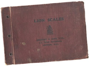 Catalogue 1930 (Lion Quick Action scales  - Users)