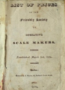 Friendly Society of Operative Scale Makers