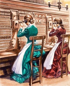 Europe's first telephone exchange opens in London on 21st August 1879 by The Telephone Company Ltd. (Bell's Patents)