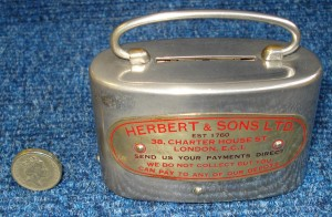 Money Box - 'Herbert & Sons'