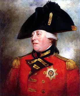 George III becomes King on 25 October 1760
