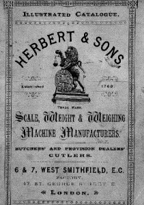Catalogue 1890 (Small scales & sundries)