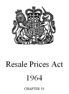 Resale Prices Act
