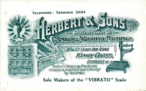 Business Card c1912