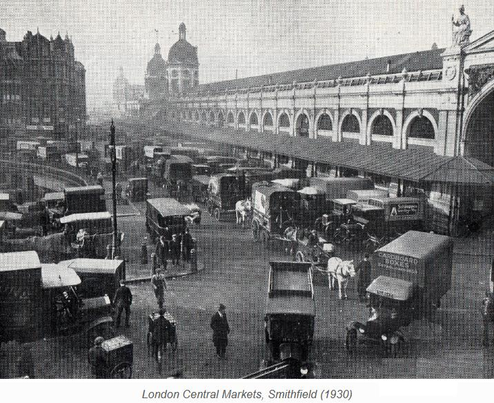 London, Smithfield Market