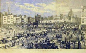 Picture of London, Smithfield Market