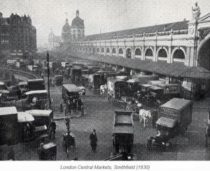 Image of London, Smithfield Market