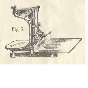 Picture of Inverted Weighing Machine - Medhurst