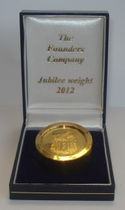 Picture of Founders' Company - Jubilee Weight 2012